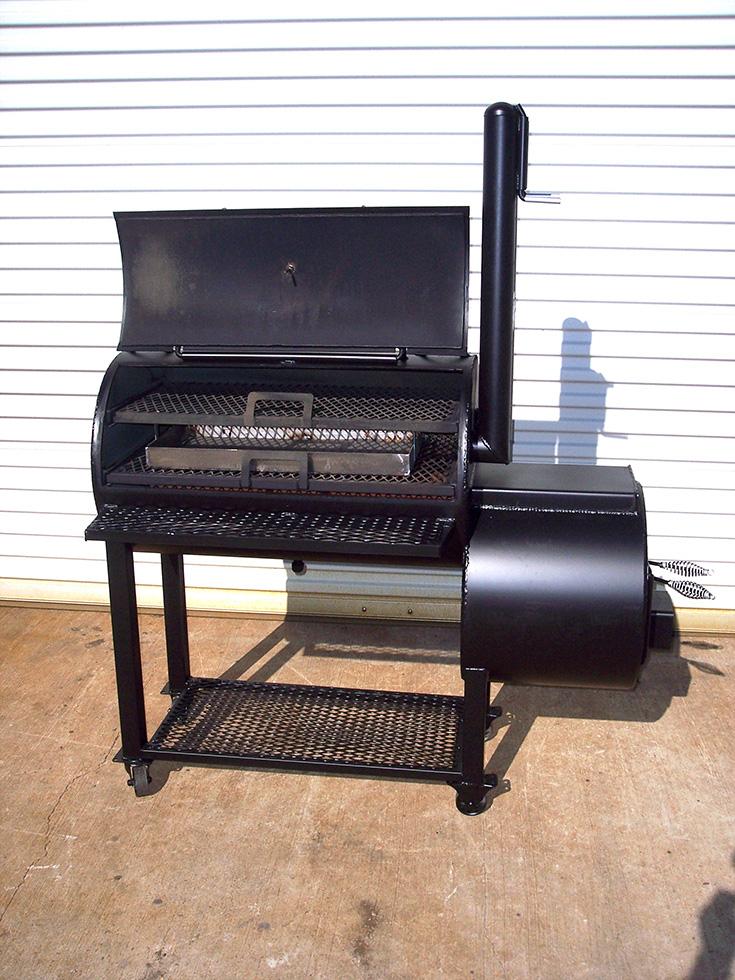 Compact Patio Johnson Custom Bbq Smokers