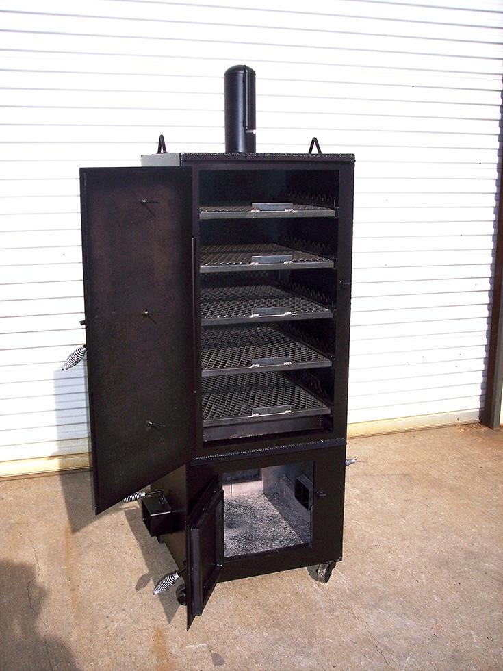 Vertical Smoker Johnson Custom Bbq Smokers